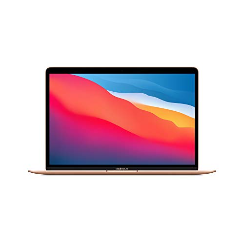 2020 Apple MacBook Air with Apple M1 Chip (13-inch, 8GB RAM, 256GB SSD Storage) - Gold