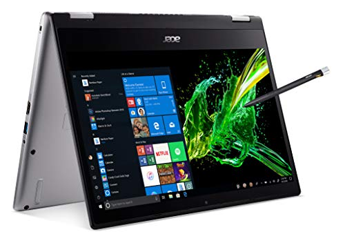 Acer Spin 3 Convertible Laptop, 14 inches Full HD IPS Touch, 8th Gen Intel Core i7-8565U, 16GB DDR4,...