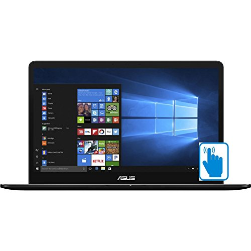 ASUS ZenBook Pro UX550VE-DB71T 15.6 inch FHD Touch Laptop PC (Intel i7-7700HQ Quad Core, 16GB RAM,...