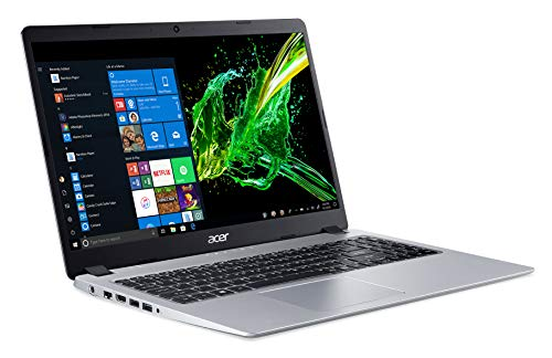 Acer Aspire 5 Slim Laptop, 15.6 inches Full HD IPS Display, AMD Ryzen 3 3200U, Vega 3 Graphics, 4GB...