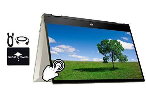 2020 Newest HP x360 Pavillion 2in1 Convertible 14' FHD Touchscreen Flagship Laptop, 10th Gen Intel...