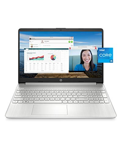 """HP 15 Laptop, 11th Gen Intel Core i5-1135G7 Processor, 8 GB RAM, 256 GB SSD Storage, 15.6"""" Full HD..."""