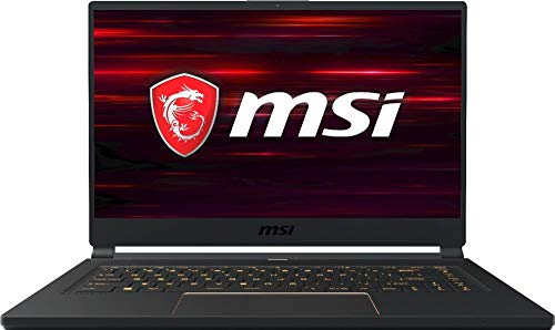 MSI GS65 Stealth-006 15.6' 144Hz Ultra Thin and Light Gaming Laptop, Intel Core i7-8750H, NVIDIA RTX...