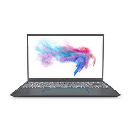 MSI Prestige 14 A10SC-020 14' Ultra Thin and Light Professional Laptop Intel Core i5-10210U GTX1650...