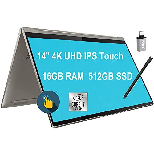 Lenovo Yoga C940 Flagship 2 in 1 Laptop 14'4K UHD IPS Touchscreen Intel Quad-Core i7-1065G7 16GB...