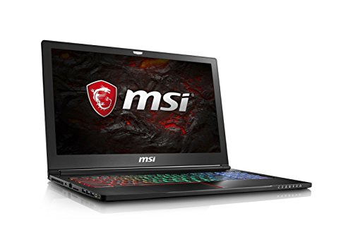 MSI GS63VR Stealth Pro-230 15.6' Ultra Thin and Light Gaming Laptop Intel Core i7-7700HQ GTX 1060...