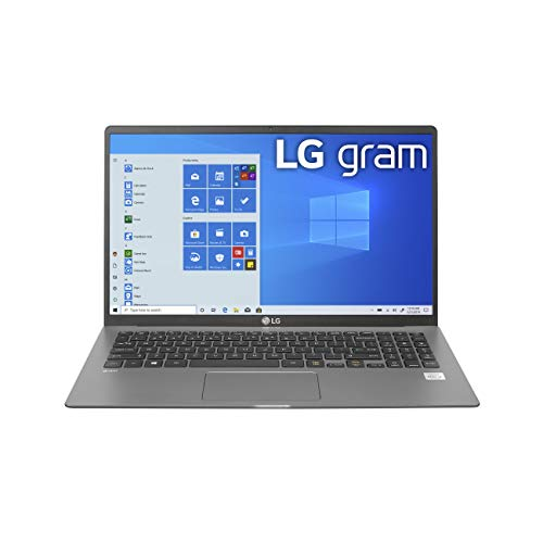 LG gram Laptop 15.6Inch IPS Touchscreen, Intel 10th Gen Core i71065G7 CPU, 8GB RAM, 256GB M.2 NVMe...
