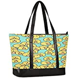 Laptop Tote Bag for Women,Cutr Animal chicken Large Capacity Womens Work Tote Bag,Shoulder Bag...