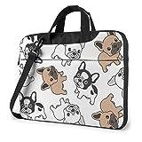 Cute French Bulldog Laptop Bag Laptop Shoulder Bag Notebook Computer Case Sleeve For 13 inch
