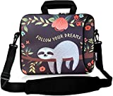 RICHEN 17 inch Laptop Shoulder Bag Carrying Case with Handle Fits 15.6/16/17/17.3/17.4 inch Laptop...