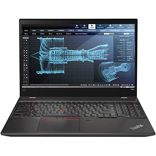 Lenovo ThinkPad P52s Mobile Workstation Ultrabook Laptop (Intel 8th Gen i7-8550U 4-core, 16GB RAM,...