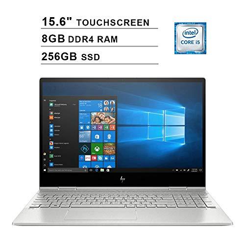 2019 HP Envy x360 15.6 Inch FHD Touchscreen Laptop (Intel Quad Core i5-8265U up to 3.9 GHz, 8GB RAM,...