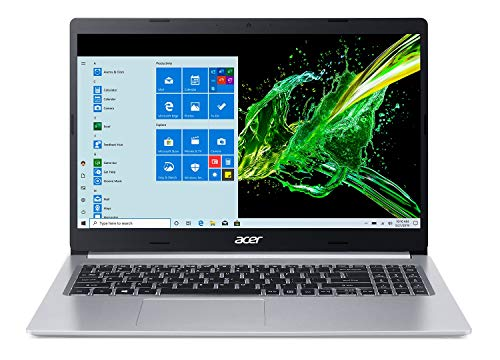 Acer Aspire 5 Slim Laptop, 15.6' Full HD IPS Display, 10th Gen Intel Core i5-10210U, 8GB DDR4, 256GB...