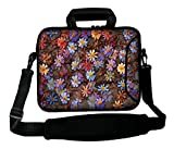 Luxburg 12 inch Soft Messenger/Shoulder Strap - Laptop Bag with Handle - Daisy Design